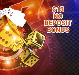 aunodepositbonus.com 15 No Deposit Bonus